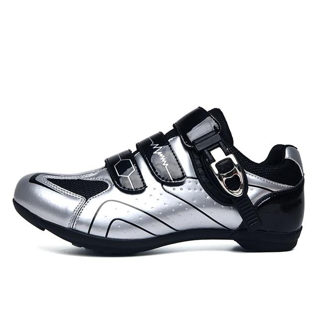 Profissional ao ar livre sapatos de ciclismo mtb respirável não-bloqueio de corrida sapatos de bicicleta de estrada dos homens tênis antiderrapante ciclismo sapatos de bicicleta 6