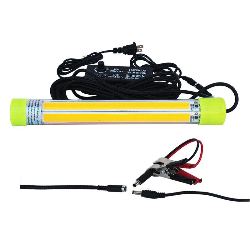 cob luz de pesca subaquatica lampada led 04