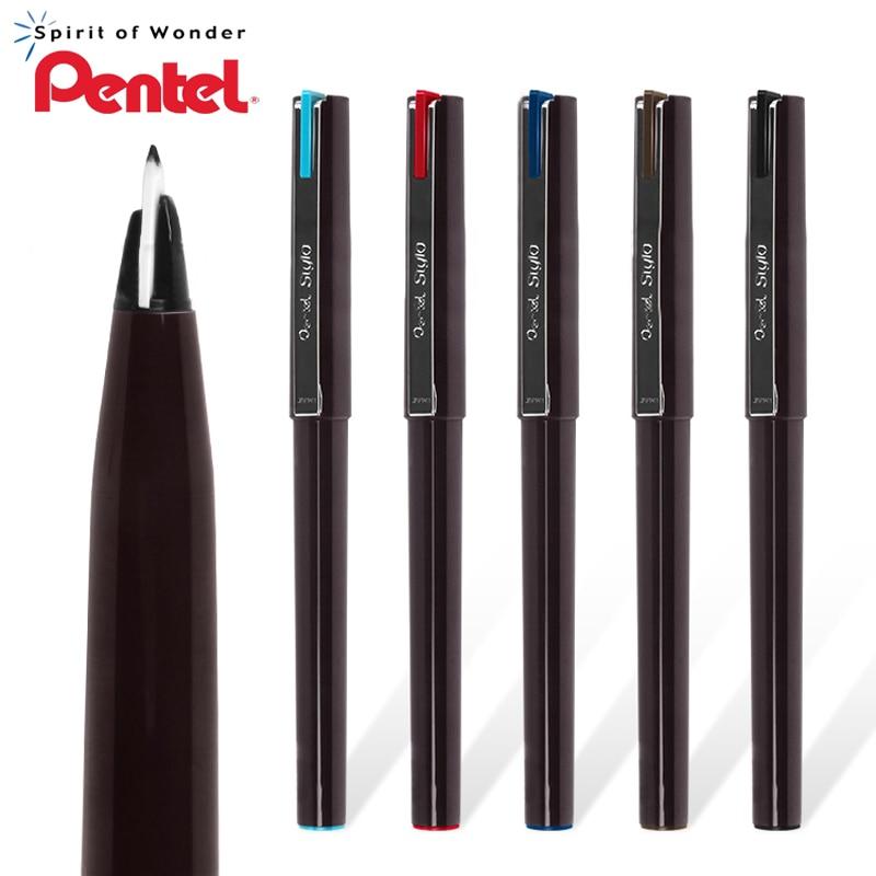 1Pcs Pentel Sketch Pen JM20 Sketch Signature Hand-Painted Composition Comic Pen Hook Line Pen Duckbill Design Gel Pen