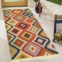 Tapetes tradicionais 80x150 turco nostálgico casa decoração sala de estar tapete tapetes algodão natural persa padrão