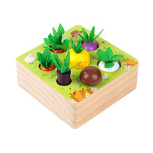 Монтессори деревянная игрушка набор Деревянные игрушки для малышей;