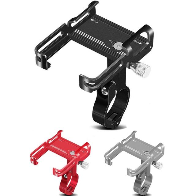 """Untoom Soporte Universal de aluminio para teléfono móvil, para manillar de bicicleta, MTB, motocicleta, Scooter, bicicleta, teléfono inteligente de 3,5 """"a 7"""""""