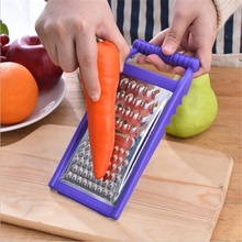 Thick stainless steel kitchen multifunctional creative knife peeler tool