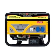 3kw gasoline generator 220V single phase 380 volt three-phase 3/5/6 kW 8Kw small mini home стоимость