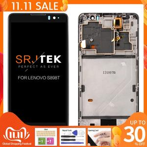 Image 1 - For Lenovo S898T LCD 5.3 inch 1280x720 Display For Lenovo S898T S898 LCD Touch Screen Digitizer Assembly