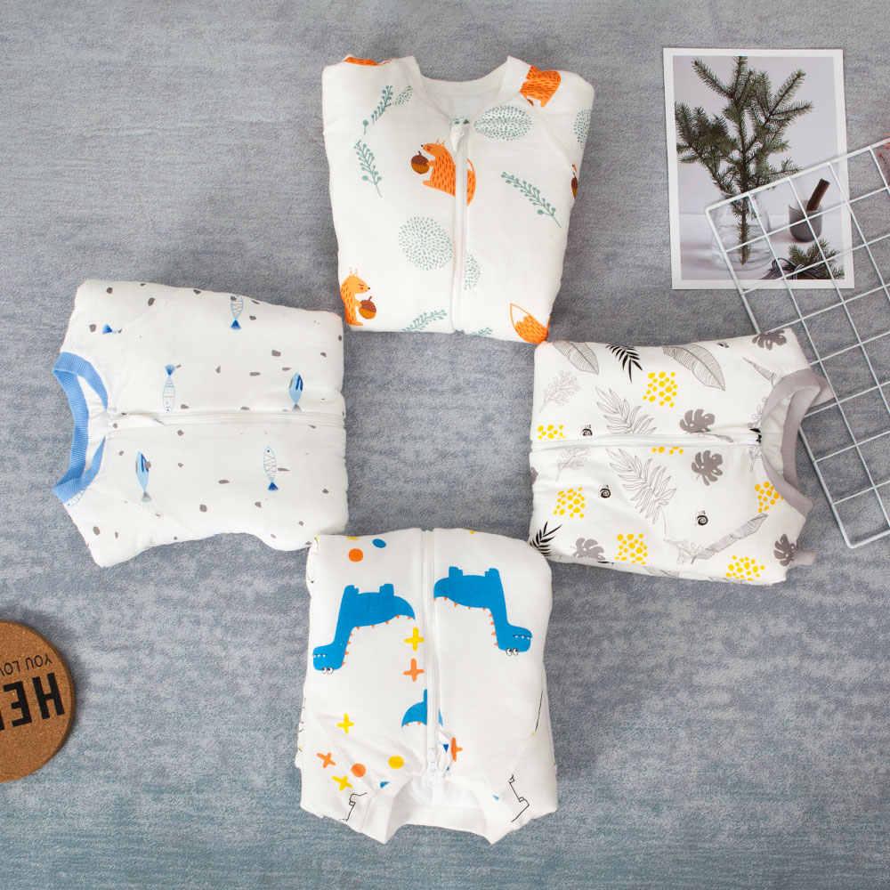 Sac de couchage Anti Tipi pour bébé, pour nouveau-né, lit avec motif de dessin animé, jeu à jambes fendues, chaud hiver