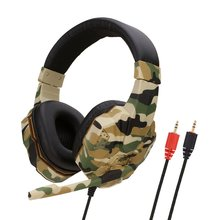 SY830MV Lightweight Sound Effect Gaming Headphone Headset Au