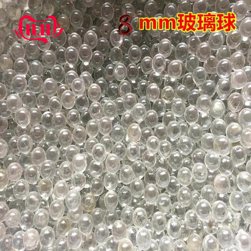 Eyalt 200pcs Glass Balls 8 Mm Marbles Extra Hyaline Glass BB Slingshot Balls Pellets