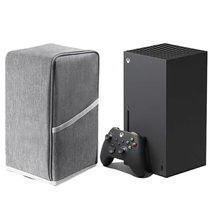 ป้องกันฝุ่นไนล่อน Anti Scratch นุ่ม Host Dust Proof Cover Skin Protector สำหรับ Xbox Series X คอนโซล