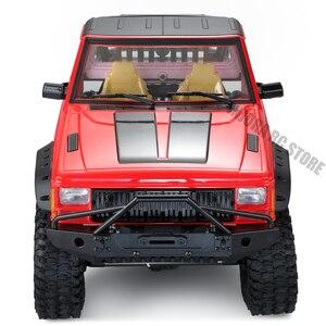 Image 5 - RC سيارة عودة نصف قفص سيارة أجرة الجسم ل 1/10 RC الزاحف محوري SCX10 90046 Traxxas TRX4 Redcat GEN 8 كشاف الثاني