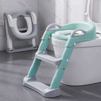 Deska klozetowa nocnik pisuar treningowy dla chłopców składane krzesło stołek schody drabina toaletowa dla maluszka dziewczyna bezpieczne Potties tanie i dobre opinie Z tworzywa sztucznego 25-36m 3-6y CN (pochodzenie) Unisex Stałe