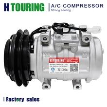 10P15C AC Air Conditioning Compressor For Toyota Land Cruiser HJ61 1988 24V OEM 88320 60191 / DENSO 047200 4810 / 047200 6480