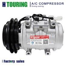 10P15C AC aire para compresor de aire acondicionado para Toyota Land Cruiser HJ61 1988 24V OEM 88320-60191 / DENSO 047200-4810 / 047200-6480