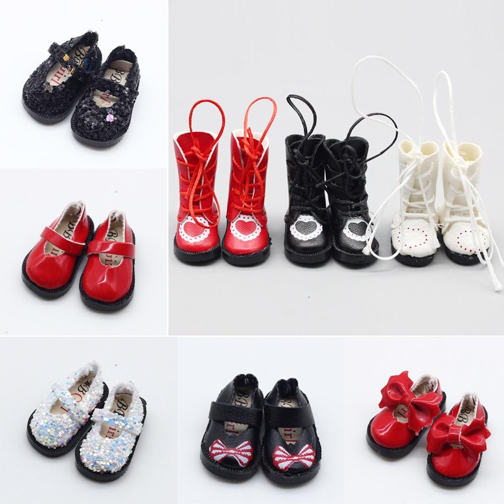 3,2 см кукольные ботинки для Blythe Doll Toy,1/8 BJD мини-ботинки для Blyth Azone BJD, повседневные аксессуары для обуви марионетки
