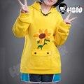 Толстовка Ohto Ai с аниме чудо-яйцо приоритет косплей одежда пуловер HSIU желтая толстовка унисекс повседневные Костюмы уличная Толстовка