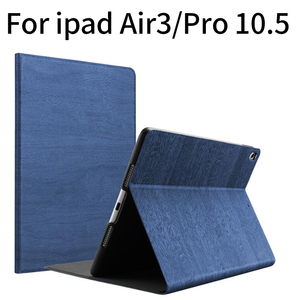 Чехол для iPad Air3 10,5, 2019, откидной Чехол-подставка, искусственная кожа, деревянный узор, магнит, Авто Режим сна, пробуждение, умный чехол для ipad ...