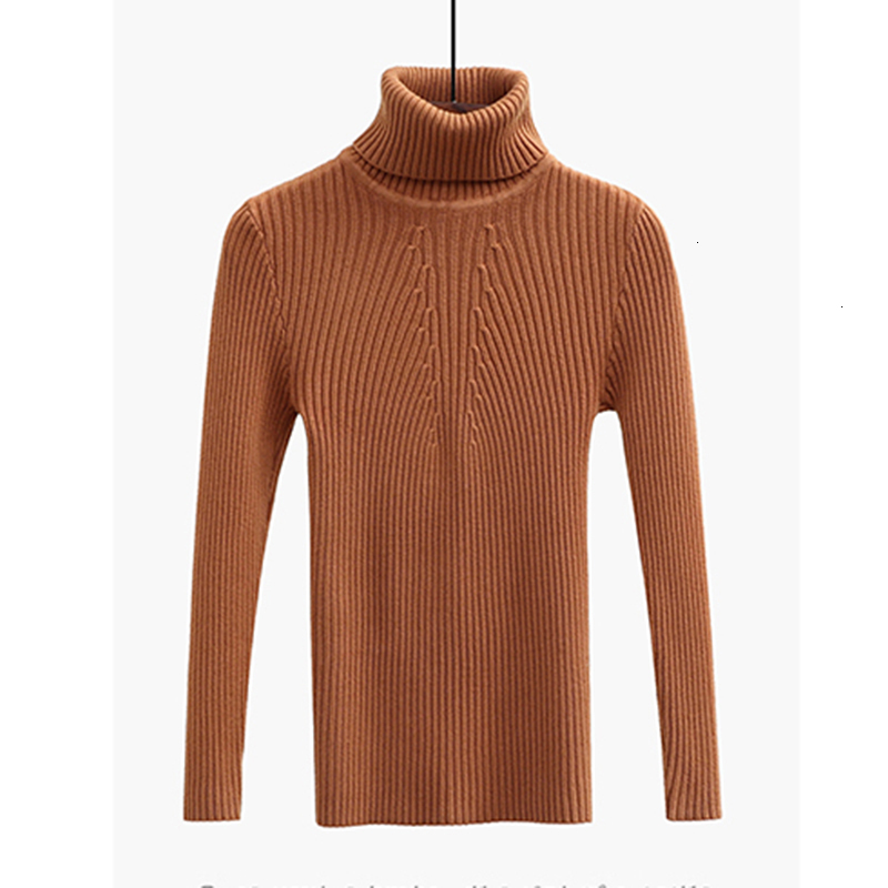 New  Retrieve Winter Sweater High Elastic Effects Coltrui Women Smart Used Sweaters Basic Sweater Tops Female YM816