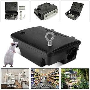 Profissional casa rato roedor isca bloco estação armadilha caixa com chave k888