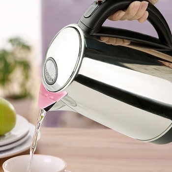 1pcs Electric Kettle Plastic Dust-proof Cover Household Hot Kettle Mouth Cap Cookware Home Kitchen Accessories Random Color 1