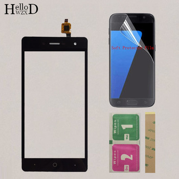5'' Moible Phone Touchscreen Sensor Panel For ZTE Blade L7 A320 Touch Screen Digitizer Front Glass Touchpad + Protector Film 5 0 touchscreen touch panel for dexp ixion es2 touch screen digitizer front glass len sensor repair touchpad protector film