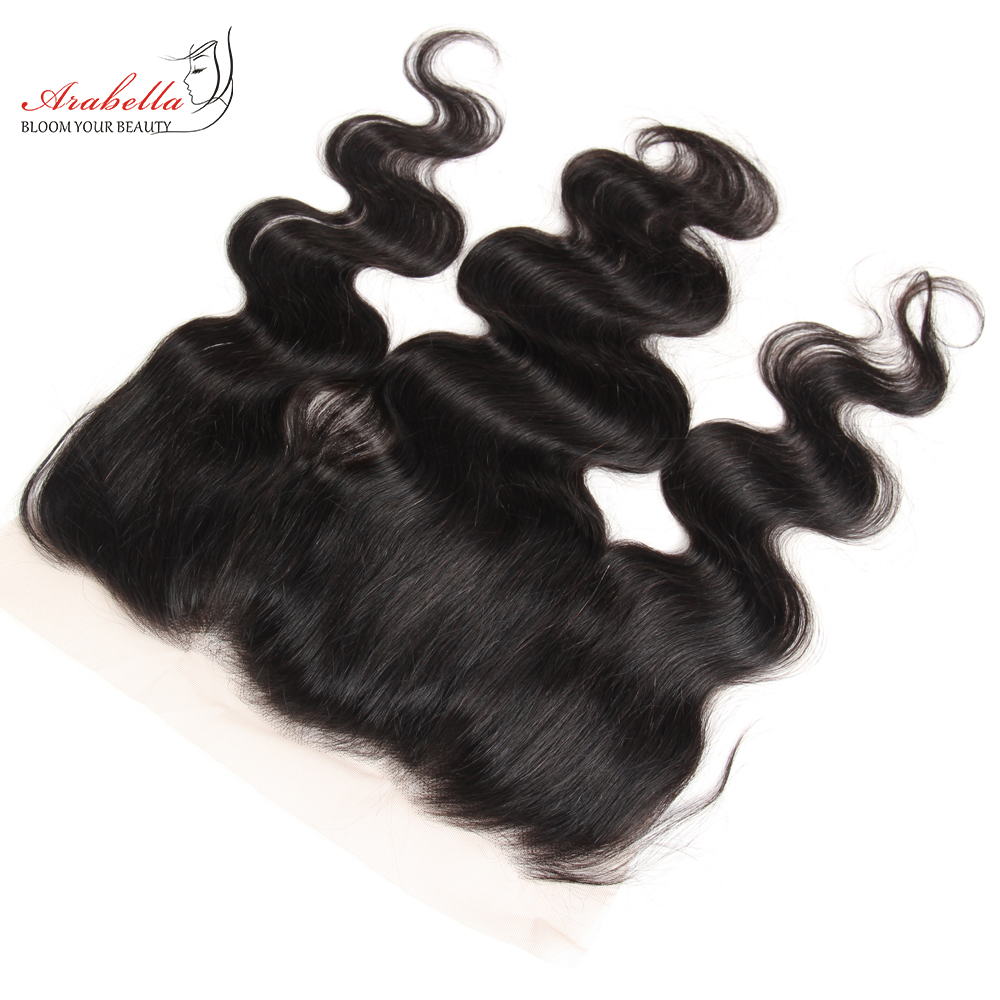 Body Wave 13x4 Transparent Lace Frontal   Arabella PrePlucked Bleached Knots Lace Frontal With Baby Hair 3