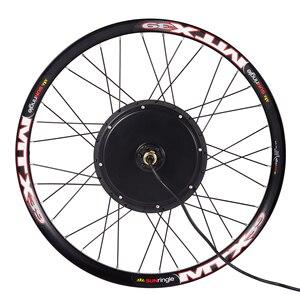 Image 4 - Ebike koło silnikowe zestaw do konwersji 24 26 27.5 28 29 cali 700C 36V 250W 48V 1000W 1500W przedni tylny rower elektryczny zestaw kół MTX