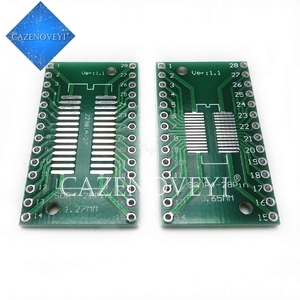 5pcs/lot TSSOP28 SSOP28 SOP28 to DIP28 Transfer Board DIP Pin Board Pitch Adapter