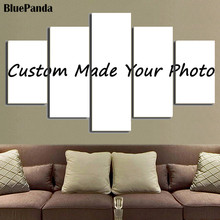 HD Custom Prints 5 Pieces Modular Pictures Wall Art Canvas Painting Bedside Background Home Decor Modern Artwork DIY Poster цена