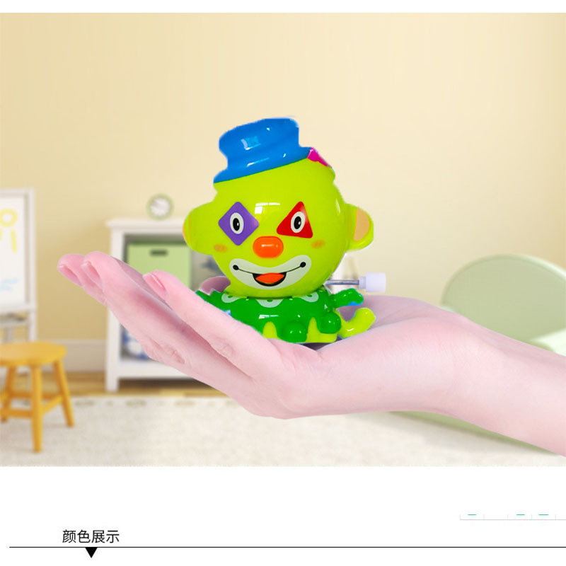 Creative Children Wind-up Toy Novelty Gift Cartoon Clown Winding Small Toy Stall Hot Selling Supply Of Goods