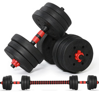 15KG Adjustable Dumbbell Weight Set Weights  Gym Workout Fitness Dumbbells ,California Warehouse , eastern Region Not Ship