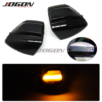 2X For Ford S-Max 07-14 Kuga C394 08-12 C-Max 11-19 LED Dynamic Turn Signal Light Side Mirror Sequential Blinker Indicator Lamp