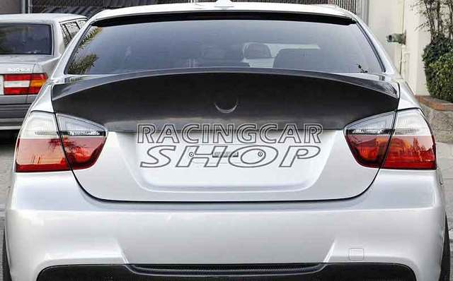CSL Style UNPAINTED Rear Spoiler For BMW 3-Series E90 4Door 2006-2008 M057F 1