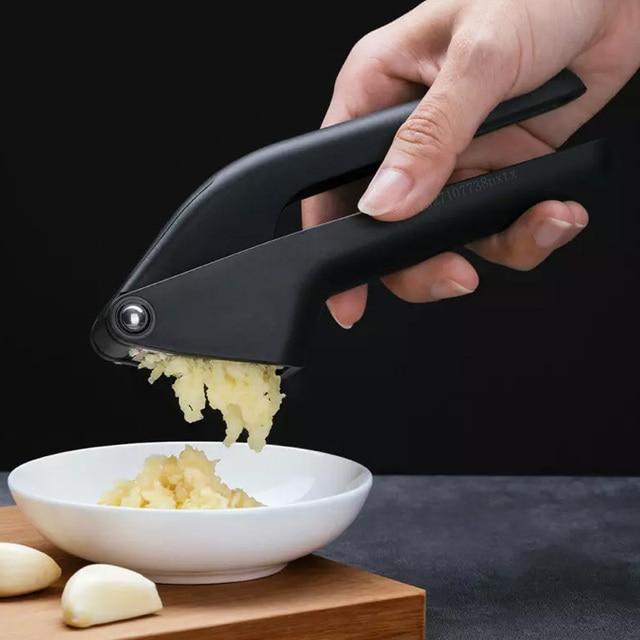 Youpin Huohou מטבח שום פרסר מדריך שום מגרסה מטבח כלי Micer חותך לסחוט כלי פירות וירקות