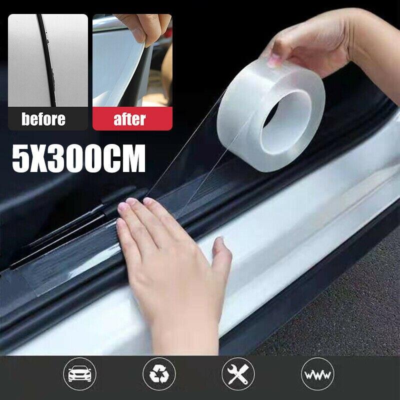 3m Anti Scratch Car Stickers Auto Interior Protector Film Door Edge Protective Glue Automobiles Trunk Door Sill Car Accessories