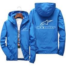 Primavera/outono 2020 outerwear, m = moletom com capuz masculino, jaqueta impressa moda, casaco impermeável informal, casaco esportivo casual