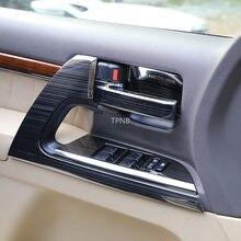 Para Toyota Land Cruiser 200 LC200 2008 2009 2010 2011 2012 2013 2014 2015 2016 2017 2018 2019 Aço Inoxidável Acessórios de Cobertura