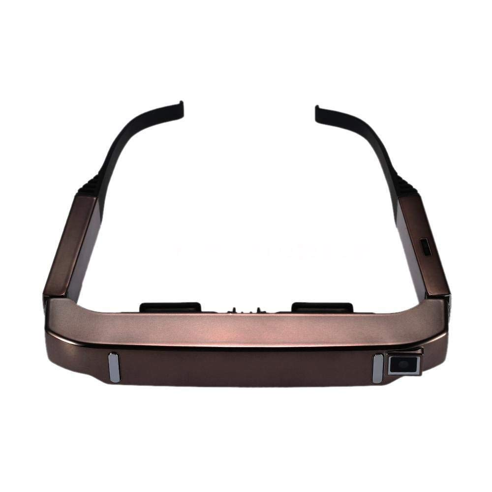 VISION 800 Smart Android WiFi Brille 80 zoll Wide Screen Tragbare Video 3D Gläser Private Theater mit Kamera Bluetooth medi #5 - 2