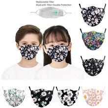 Children's-Masks Masque Halloween Cosplay Mouth Adjustable for Ear-Straps Cute Visage