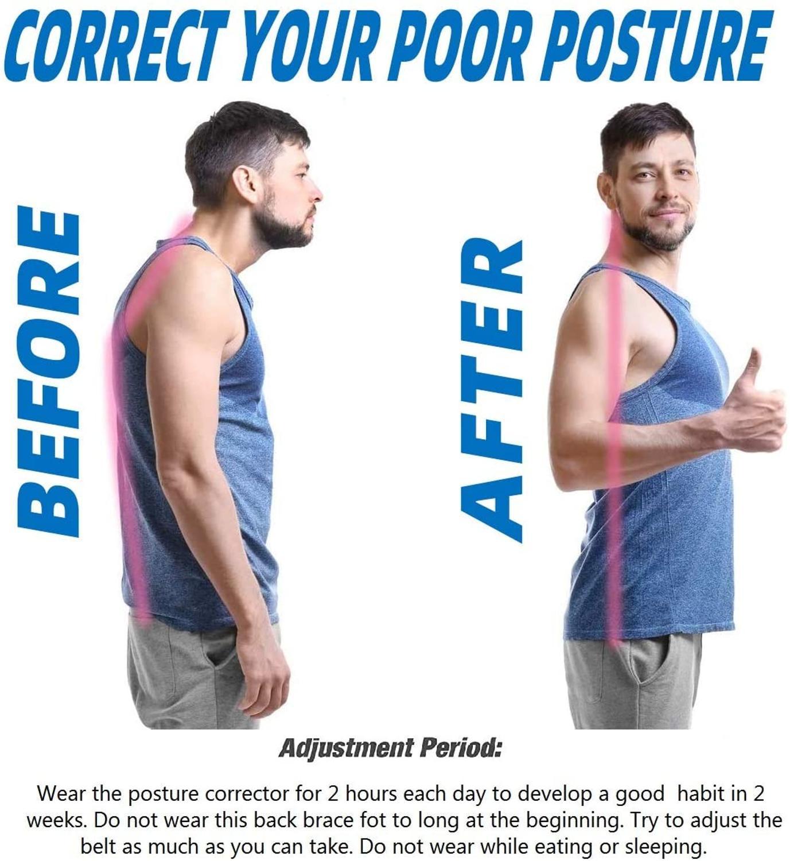 New Posture Corrector Spine Back Shoulder Support Corrector Band Adjustable Brace Correction Humpback Back Pain Relief-1
