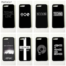 Techno telefono music мягкий чехол для мобильного телефона s для iPhone 11 pro max 5S se 6 6s 7 8 plus X XR XS MAX чехол