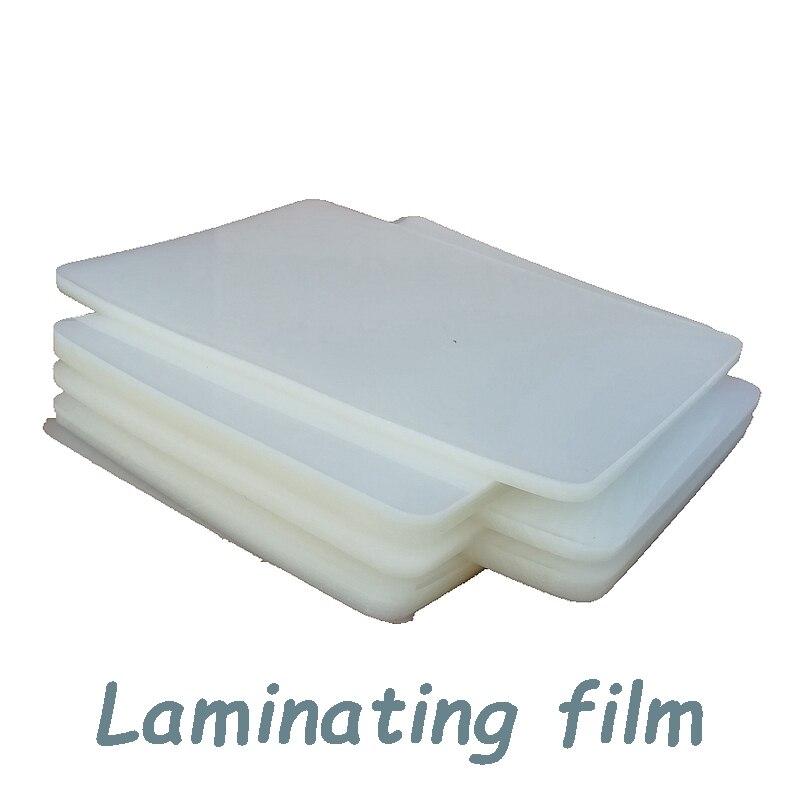 Купить с кэшбэком 125micron 8.5X12.1 inch PET PE PVC Hot wind Laminator machine A4+ SIZE PE Plastic sealing machine laminating film