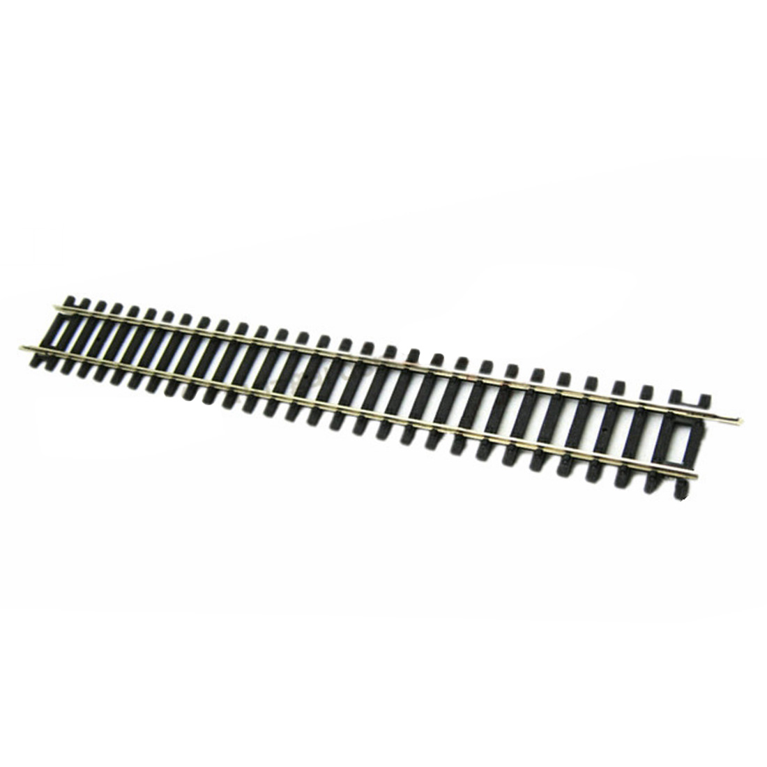 1:87 239mm G239 Train Track Straight Track With/Without Roadbed Bolt Set For Train Model Model Building Kits - Black