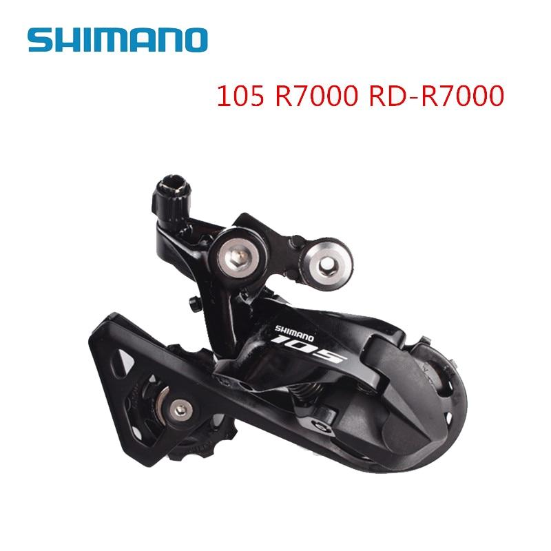 Shimano 105 RD-R7000 SS GS 11-speed Rear Derailleur Short Medium Cage Black