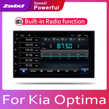 ZaiXi Android 2 Din Car radio Multimedia Video Player auto Stereo GPS MAP For Kia Optima Magentis Lotze 2005~2010 Media Navi h lotze lotze s system of philosophy part 1 logic