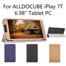 Stand Pu Leather Case For ALLDOCUBE iPlay 7T Tablet PC,6.98