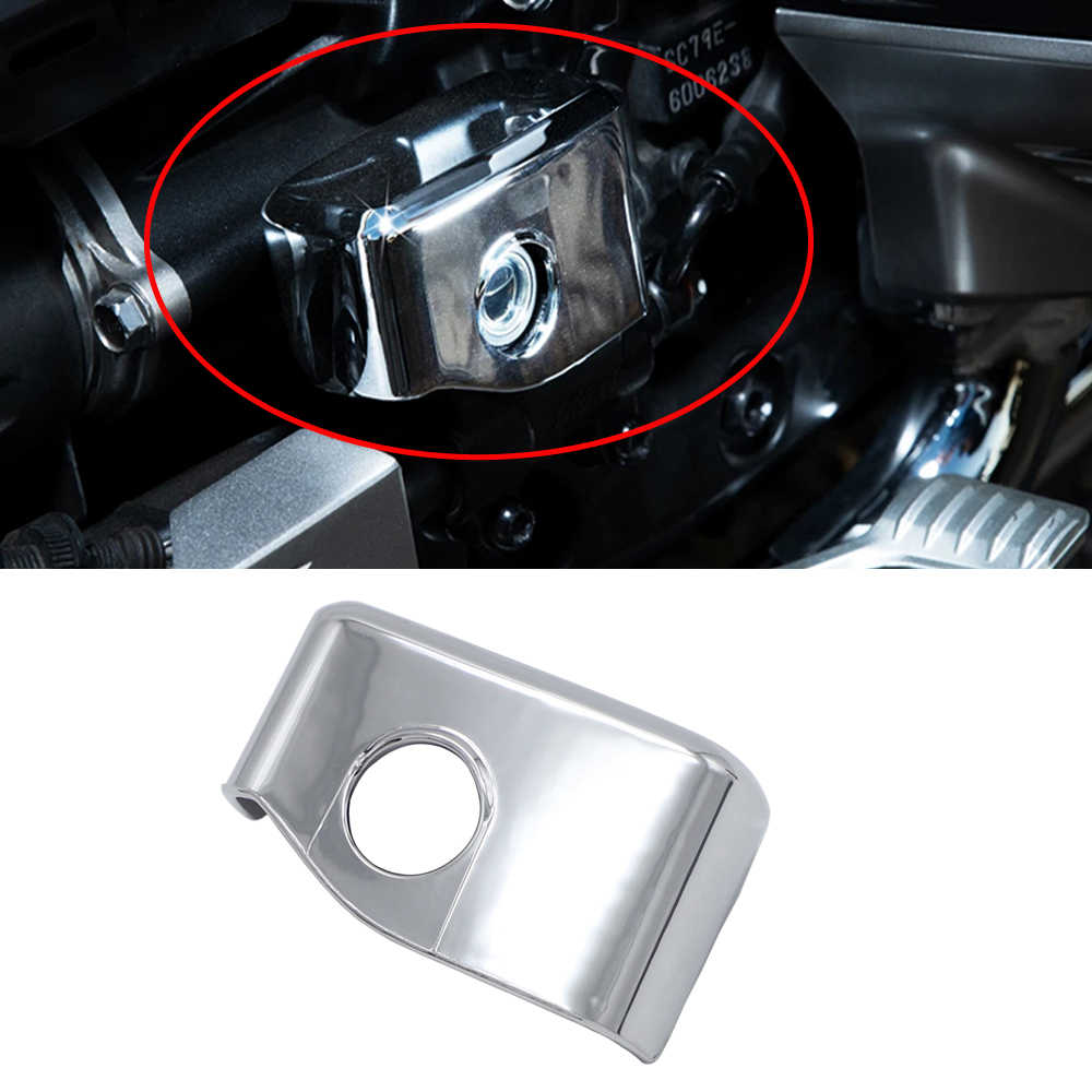 Garniture de Garde-Boue arri/ère en Plastique ABS chrom/é pour Honda Goldwing 1800 GL1800 2001-2011 AOD