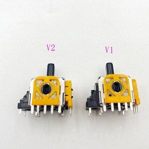 Image 5 - 10 pièces jaune Original 3D Joystick axe Modulo Sensore Analogico pour Playstation 4 PS4 manette