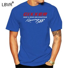 New Print Man Cotton Gixxer Men T-Shirt Superbike Motorcycle Biker Gsxr Drop A Gear Tee Shirts Sweatshirt(China)