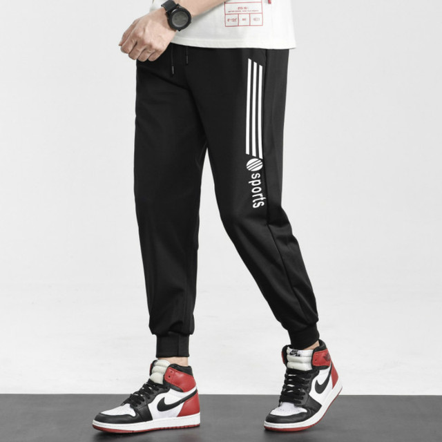 Brand Joggers Casual Sports Pants Men Gym Clothing Comfortable Male Tracksuit Bottoms Black Track Pants Mens Fitness Sweatpants 2