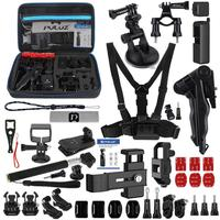 43 in 1 Accessories Total Ultimate Combo Kits for DJI Osmo Pocket with EVA CaseChest Strap + Wrist Strap + Suction Cup Mount